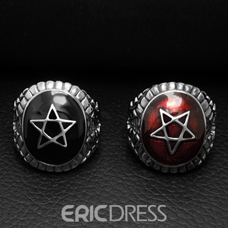 Ericdress Star Alloy Ring