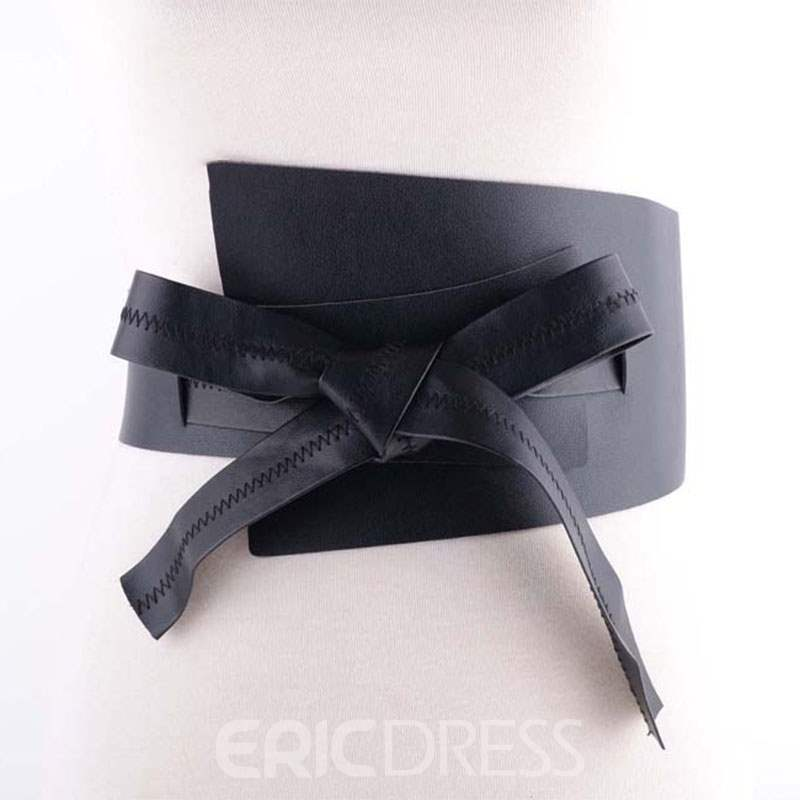 Ericdress Leather Lace Up Waistband Belt For Women
