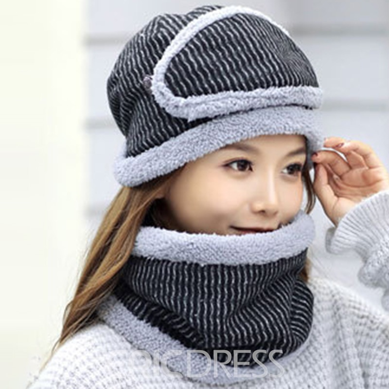 Ericdress Winter Hat&Scarf & Mask