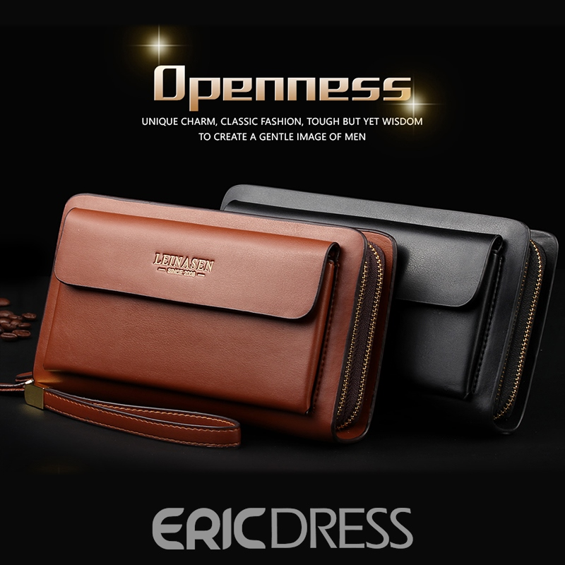 Ericdress Men PU Standard Wallet Wallets