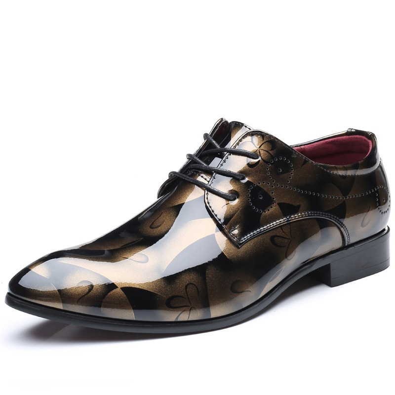 Ericdress Pointed Toe Lace-Up Men's Shoes