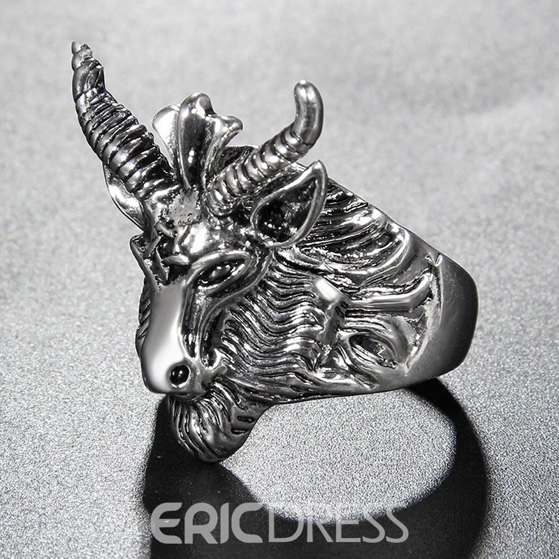 Ericdress Evil Goat Ring