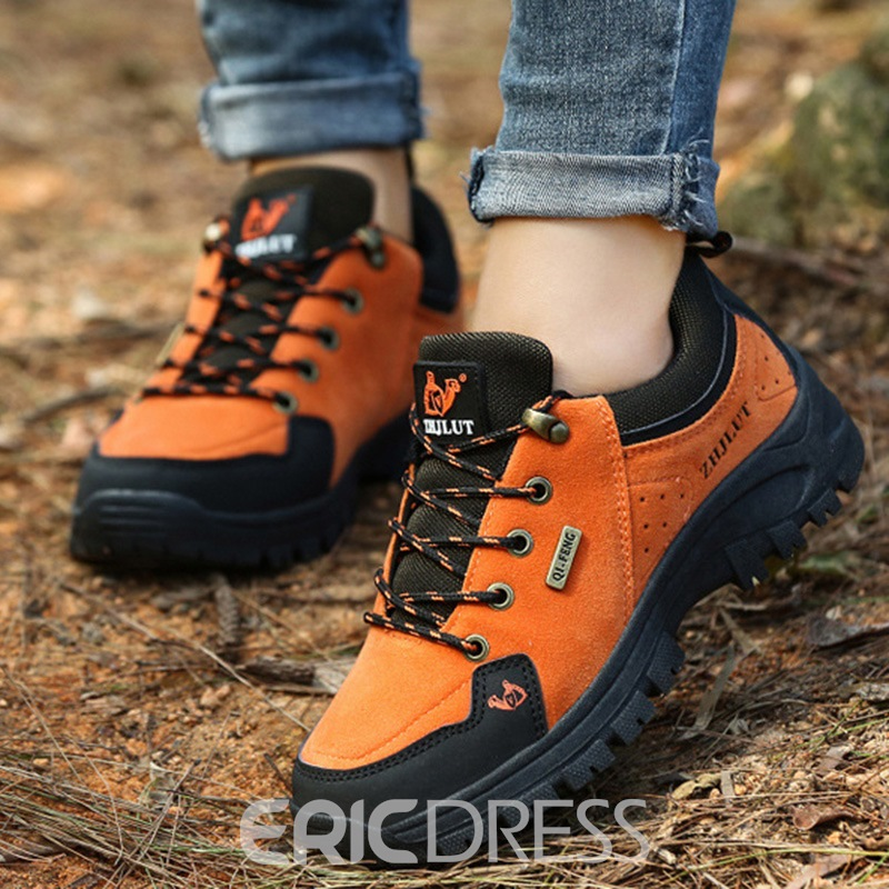 Ericdress Round Toe Lace-Up Men's Sneakers