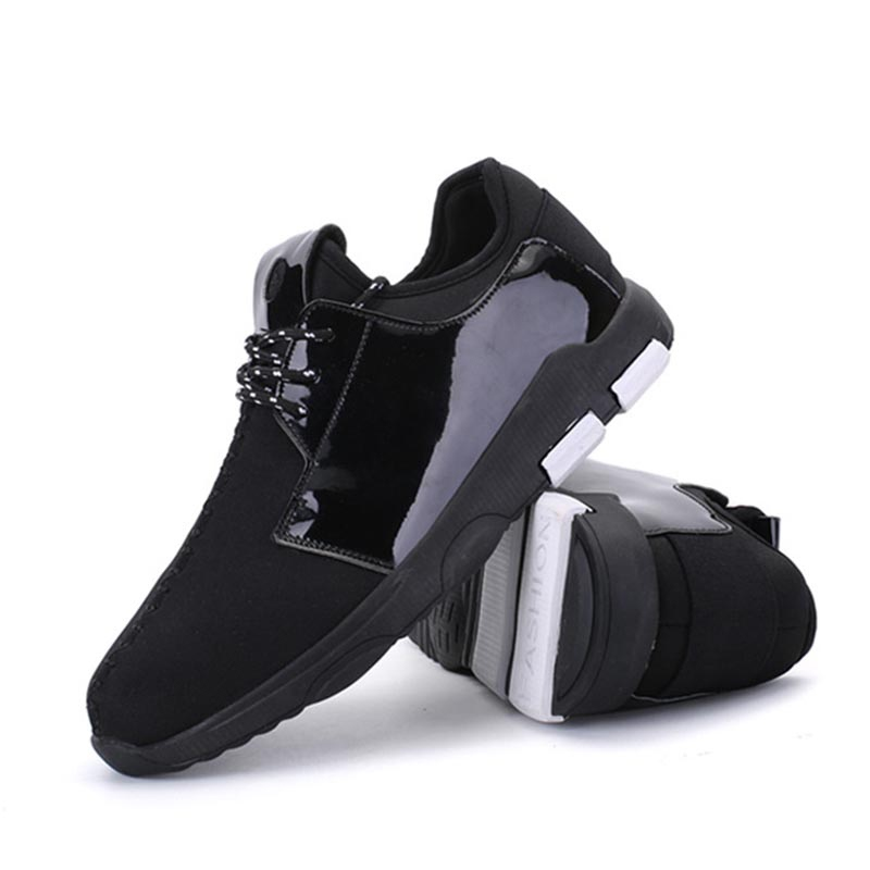 Ericdress Patchwork Low-Cut Upper Lace-Up Men's Shoes