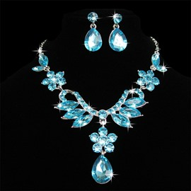 Ericdress Wedding Colorful Jewelry Set