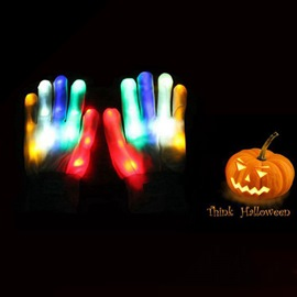 Ericdress Halloween Glow Gloves