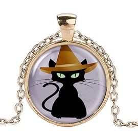 Ericdress Halloween Style Black Cat Earrings