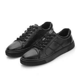 Ericdress Plain Low-Cut Upper Men's Black Shoes