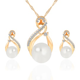 Ericdress Pearl Jewelry Set