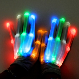 Ericdress Halloween Led Shine Glove