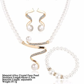 Ericdress Lady Pearl Jewelry Sets