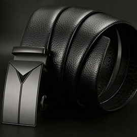 Ericdress Leather Black Belt For Men