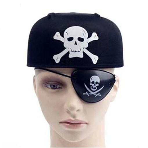 Ericdress Halloween Black Pirate Hat