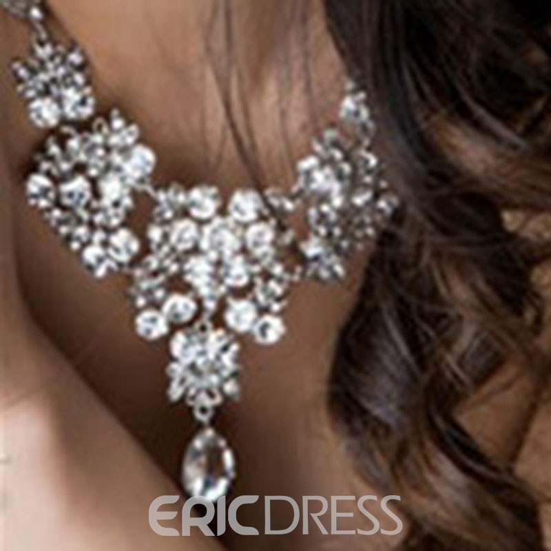 Ericdress Diamante Wedding Jewelry Set