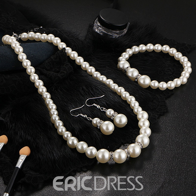 Ericdress Pearl Jewery Set