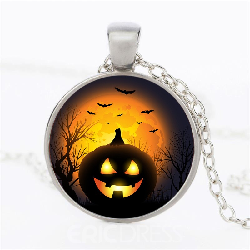 Ericdress Halloween Pumpkin Time Necklace