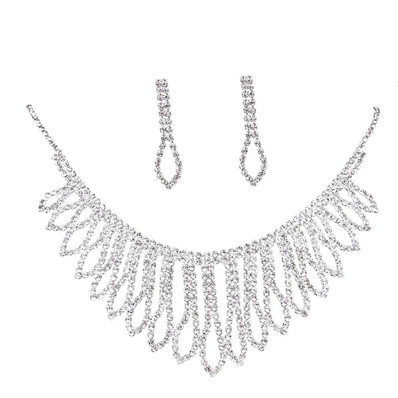 Ericdress Diamante Luxury Wedding Jewelry Set