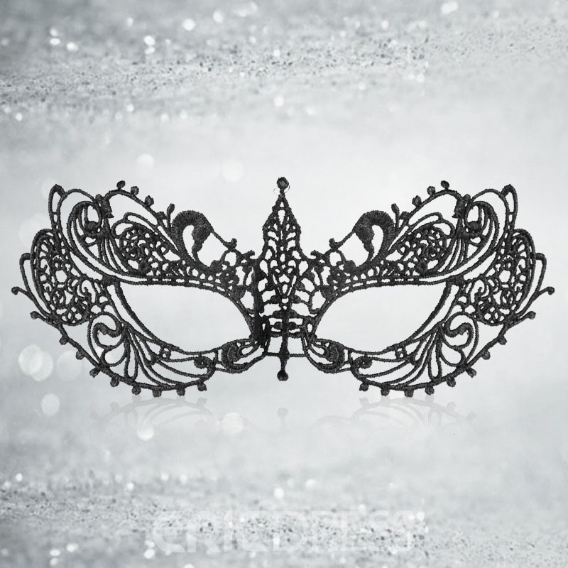 Ericdress Halloween Lace Sexy Mask