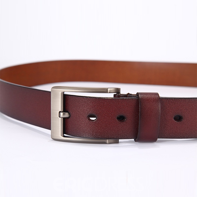 Ericdress Business Leather Belt For Men