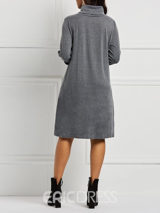 Ericdress Long Sleeves Casual Women's Dress