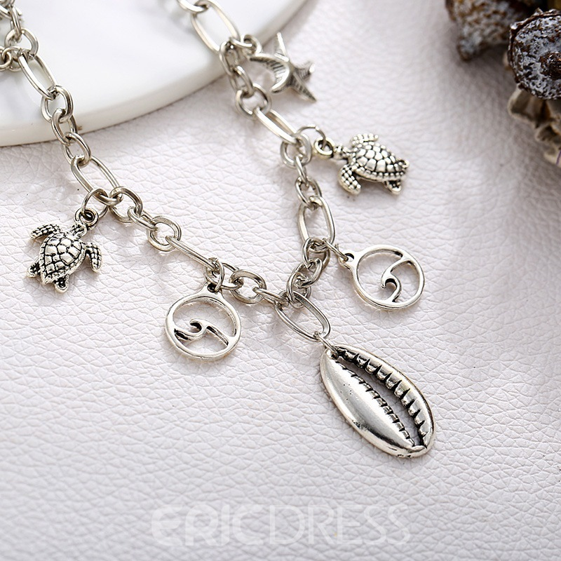 Ericdress Star&Conch Anklet