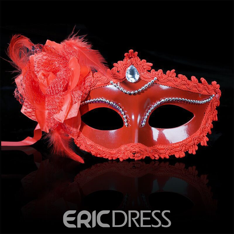 Ericdress Halloween Party Crystal Mask