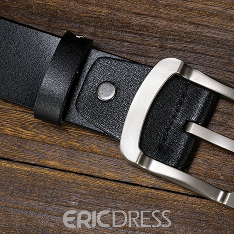 Ericdress Simple Leather Belt For Men