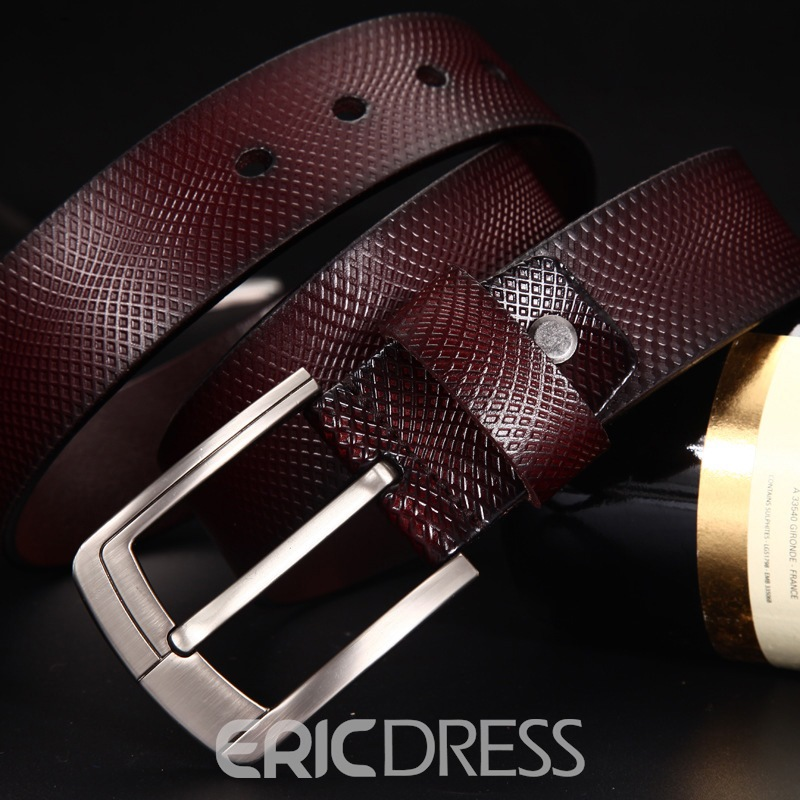 Ericdress Businesses Top Leather Man Belt