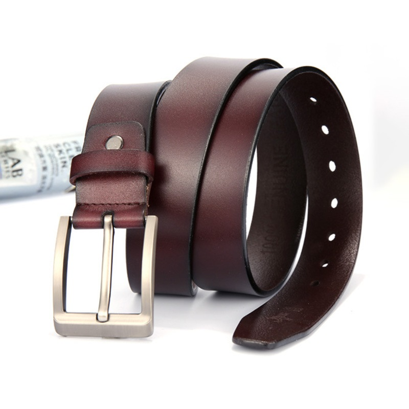 Ericdress Leather Pin Buckle Casual Belt