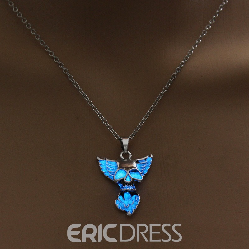 Ericdress Halloween Noctilucence Necklace