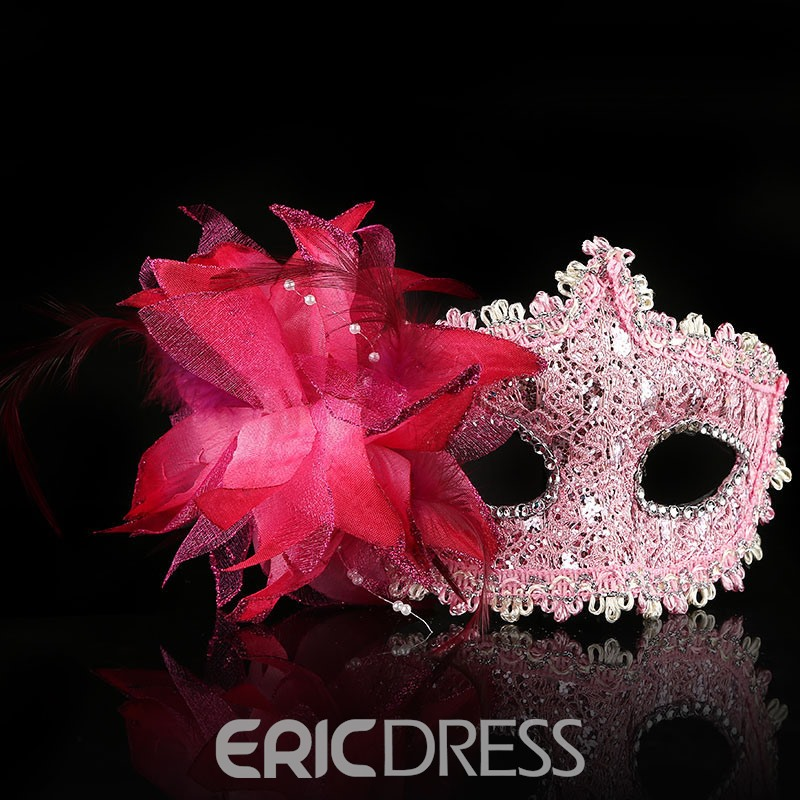 Ericdress Halloween Party Rhinestone Mask