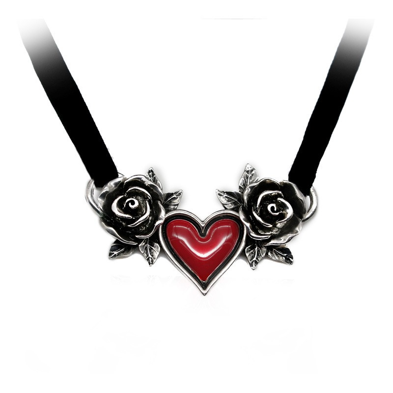 Ericdress Halloween Gothic Love Necklace