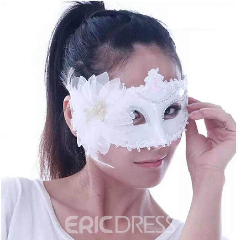 Ericdress Halloween Batmen Magic White Mask
