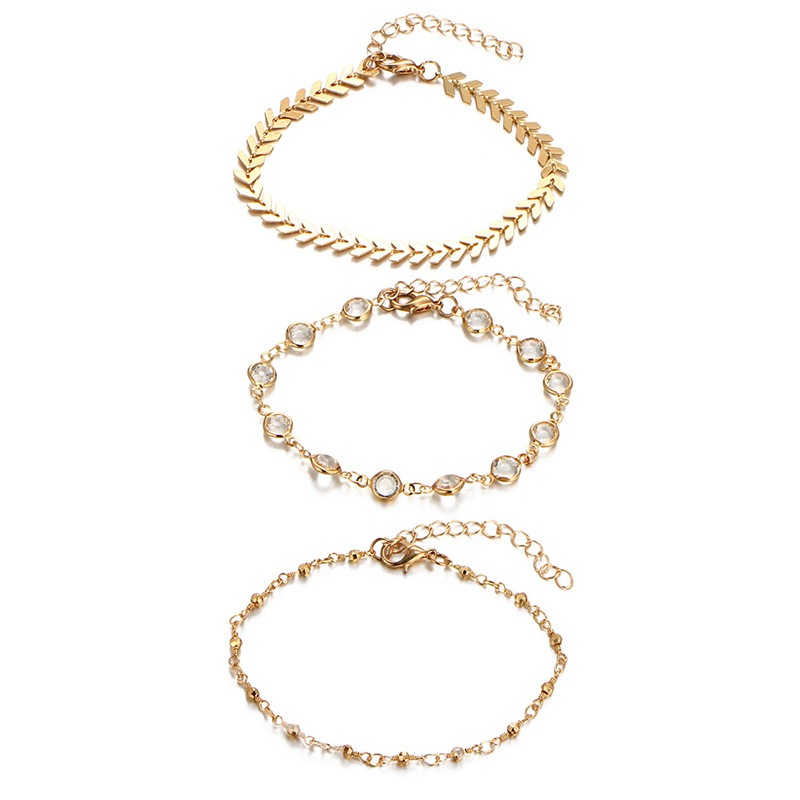 Ericdress Multilayer Alloy Anklet