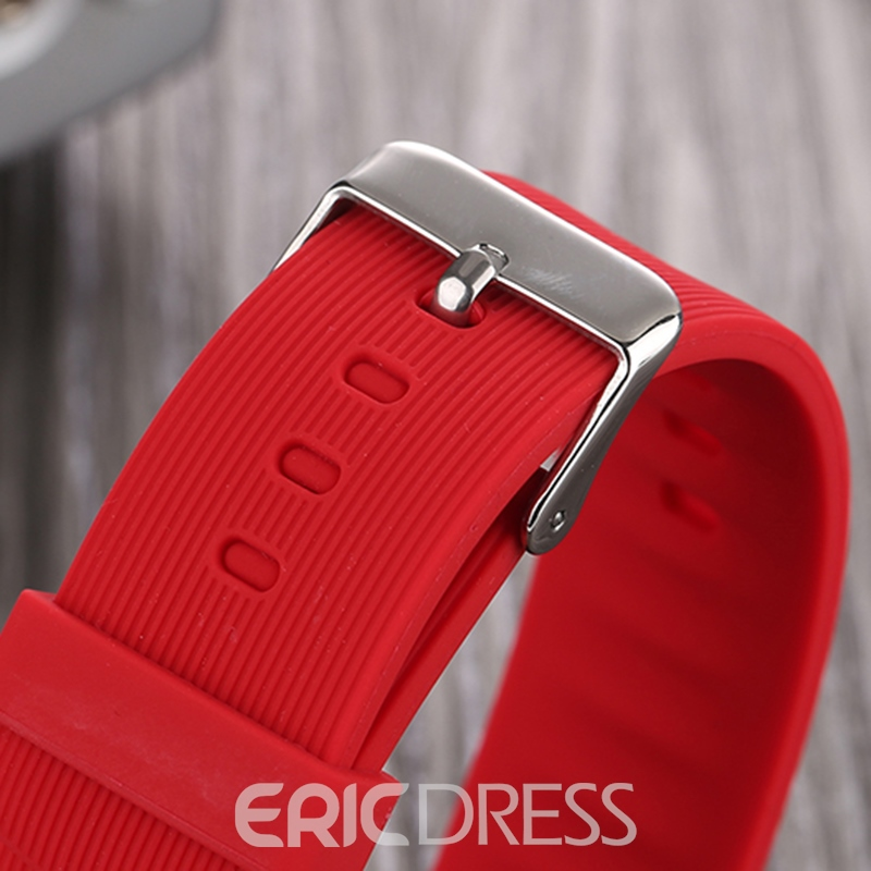 Ericdress Smart Man Silica Gel Band Watch