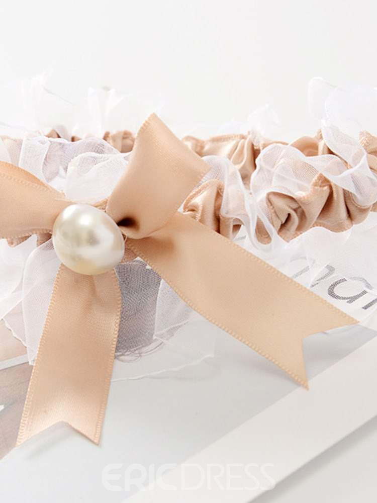 Ericdress Pearl Bowknot Sexy Women's Thigh Lap