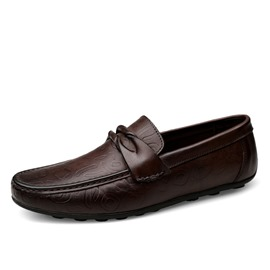 Ericdress Plain Round Toe Slip-On Men's Shoes