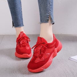 Ericdress Patchwork Low-Cut Upper Women's Sneakers