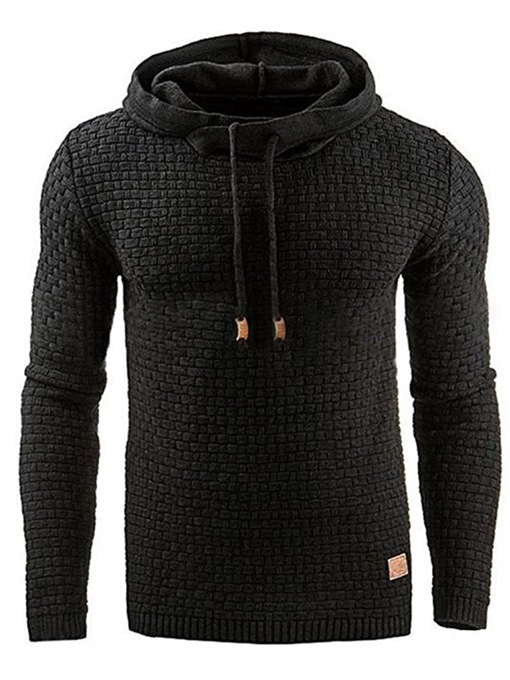 Ericdress Thick Plain Pullover Winter Pullover Men's Hoodies