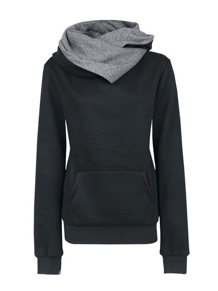 Ericdress Casual Plain Pullover Hooded Cool Hoodie