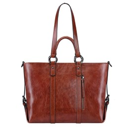 Ericdress Casual Leather Soft Women Shoulder Bag