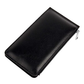 Ericdress Plain Magnetic Snap Long Wallet