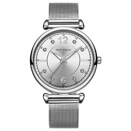 Ericdress Classics Steel Band Quartz Diamante Women's Watch