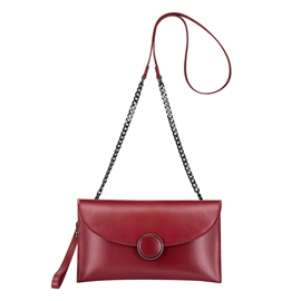 Ericdress Plain PU Envelope Women Shoulder Bag