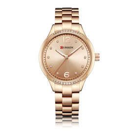 Ericdress Steel Band Elegance Round Women Watch