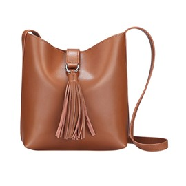 Ericdress Plain Barrel Shaped Hasp Women Handbag