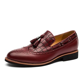 Ericdress Fringe Slip-On Professional Men's Oxfords