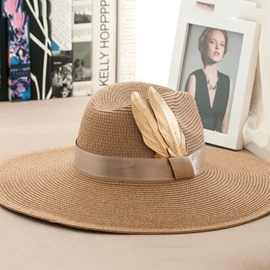 Ericdress Indian Style Leafage Sunhat For women Summer