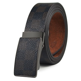 Ericdress Plaid Patterns Automatic Buckle Men's Belt