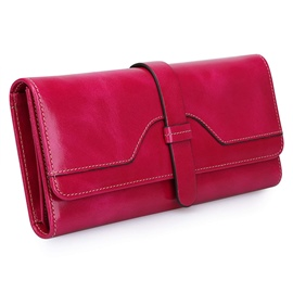 Ericdress Hasp Belt Decorated Long Women Wallet